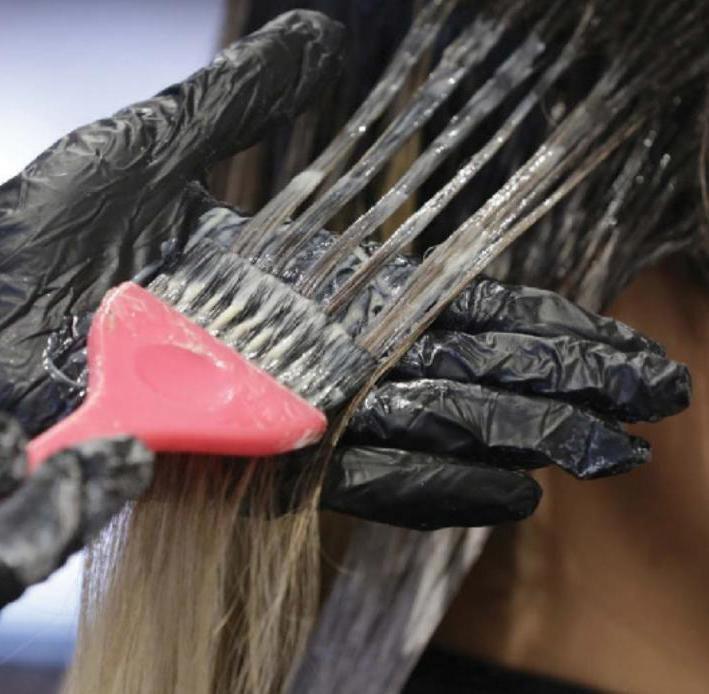 как в домашних условиях затонировать волосы