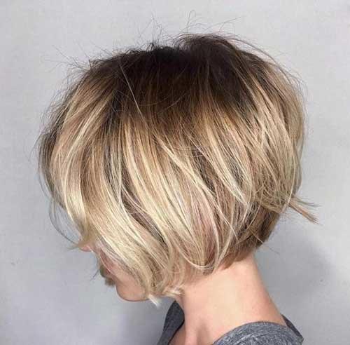 каре на тонкие волосы