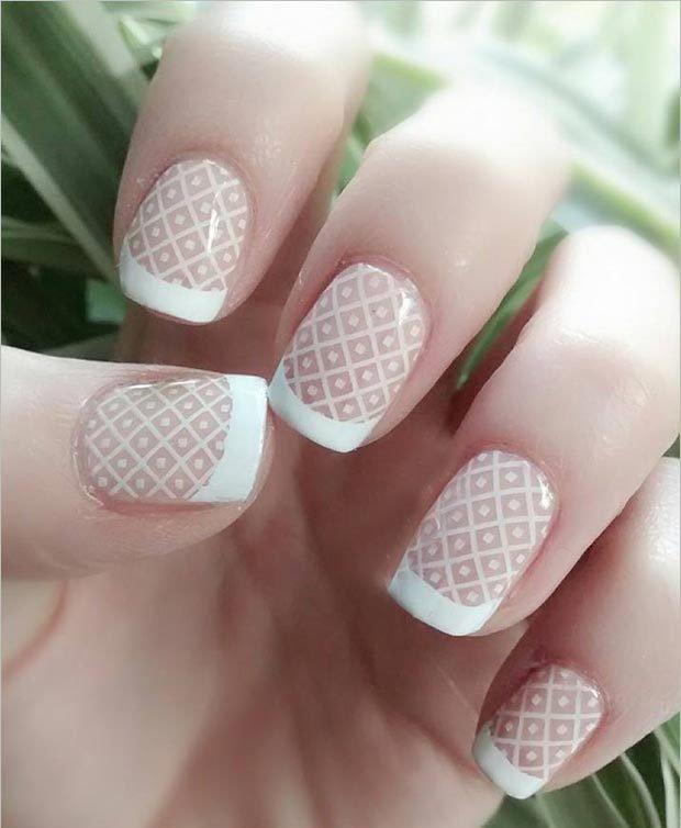 Дизайн маленьких ногтей гель