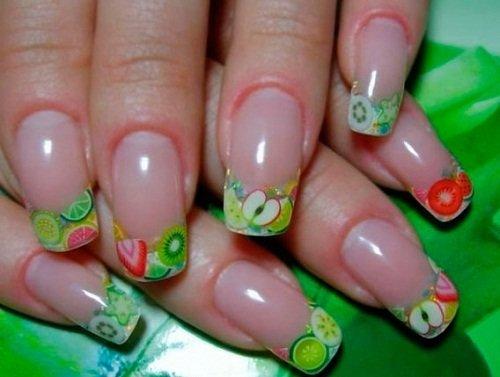 Дизайн ногтей на маленькие ногти гель лак