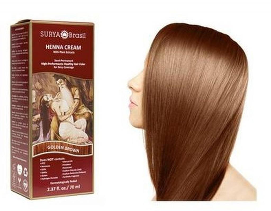 Золотистая краска для волос