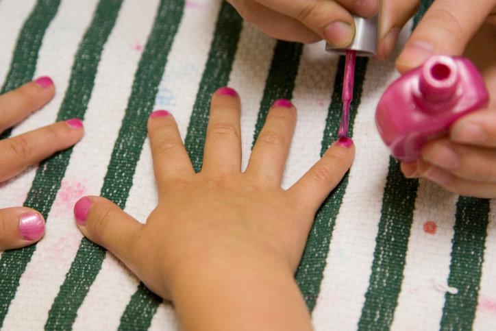 Техника детского маникюра