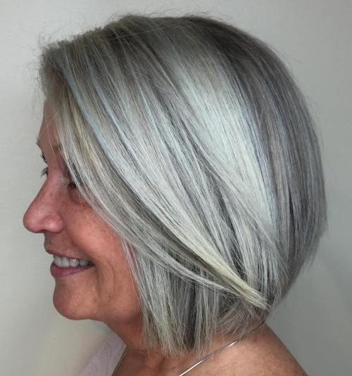 мелирование седых волос отзывы