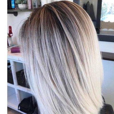 Окрашивание балаяж на светлые волосы: описание, особенности