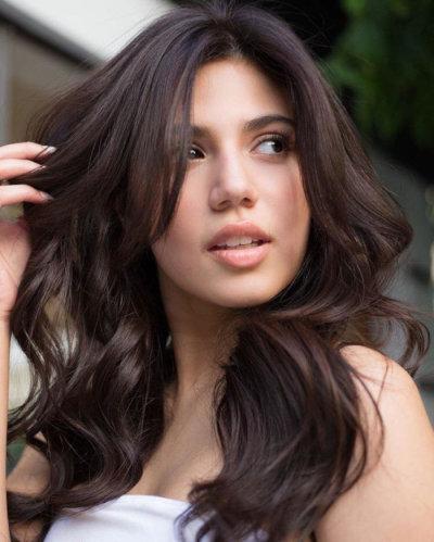 Теплые цвета коричневого цвета для волос. Оттенки коричневого