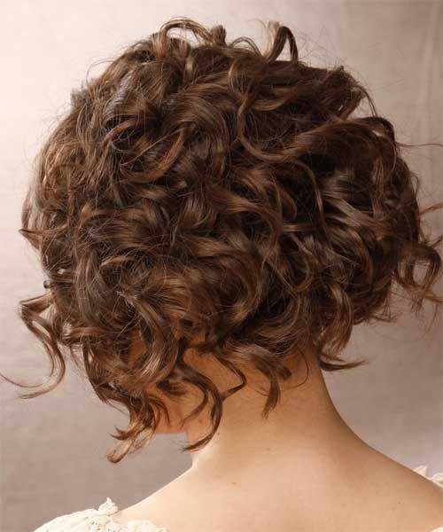 Локоны короткие волосы
