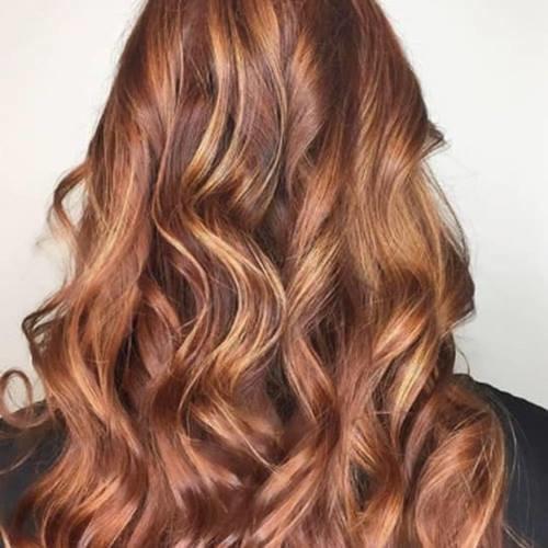цвет волос ореховый холодный