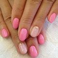 Розовый лак для ногтей: модные цвета, примеры сочетания цветов, фото