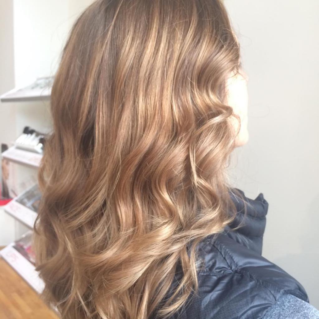 коричневый оттенок блонда