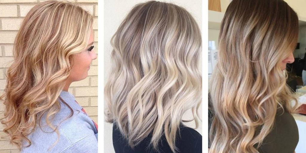 техника окрашивания в блонд