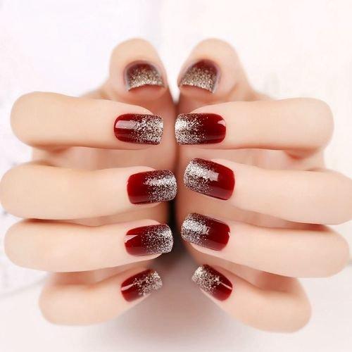 дизайн ногтей с переходом