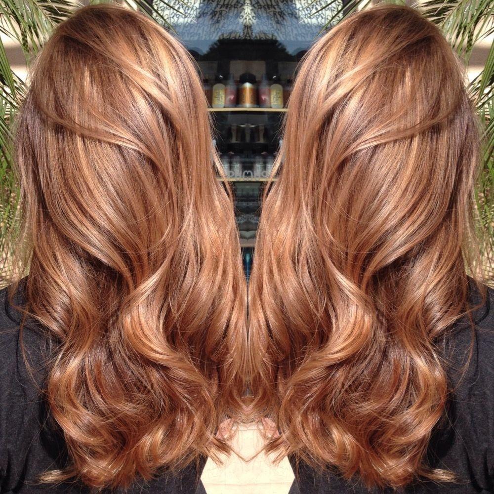 Медовый цвет волос краска