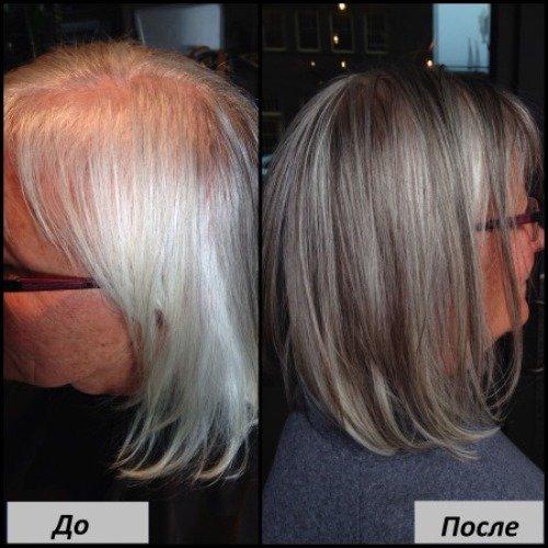 Краска «Эстель Сильвер» для седых волос