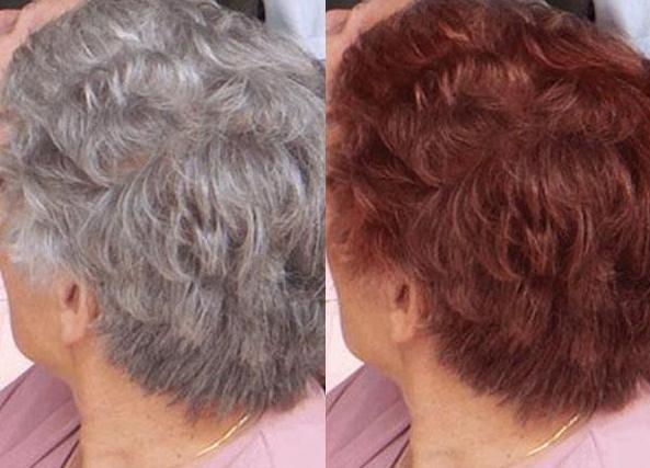 Краска «Матрикс» для седых волос