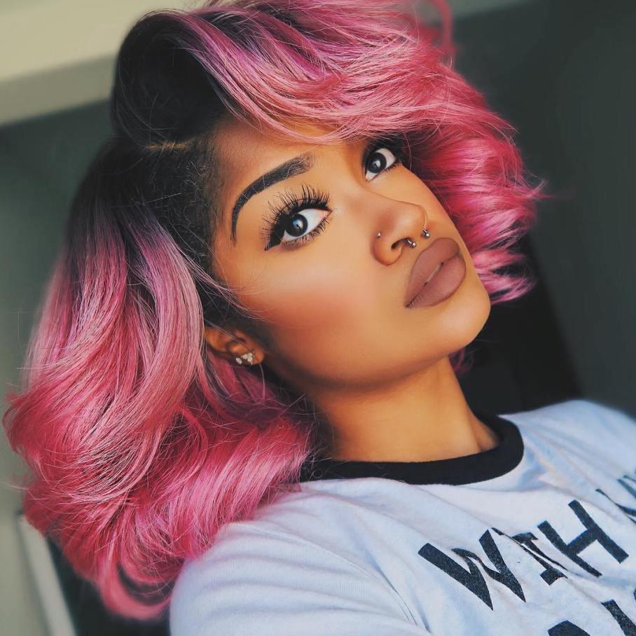 кому подойдут розовые волосы