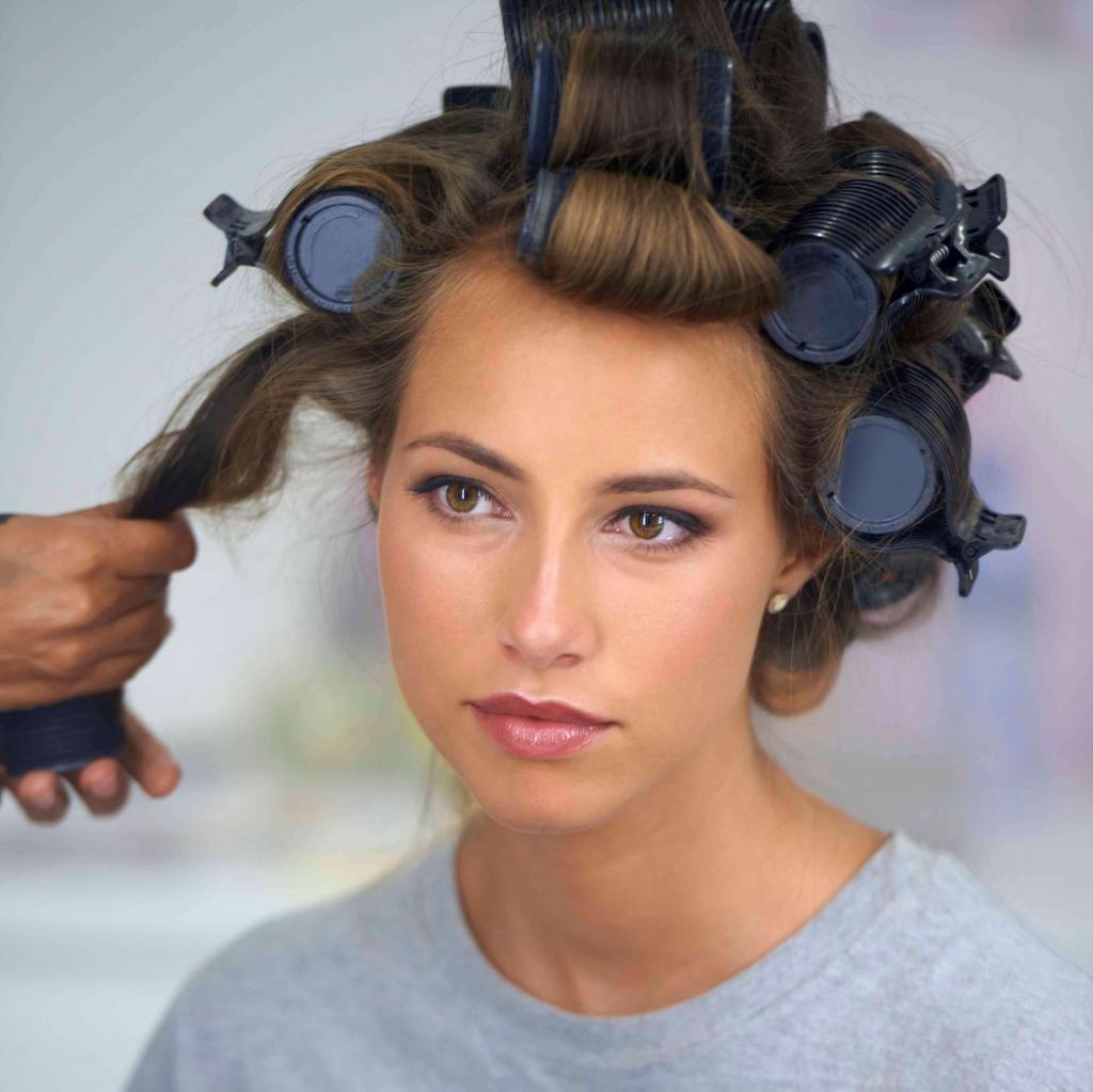 Бигуди для выпрямления волос