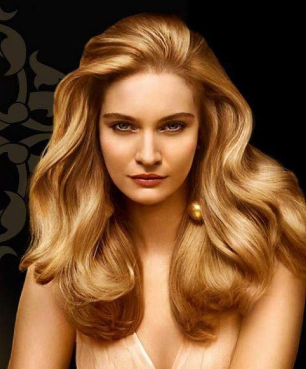 медный блонд и весенняя внешность