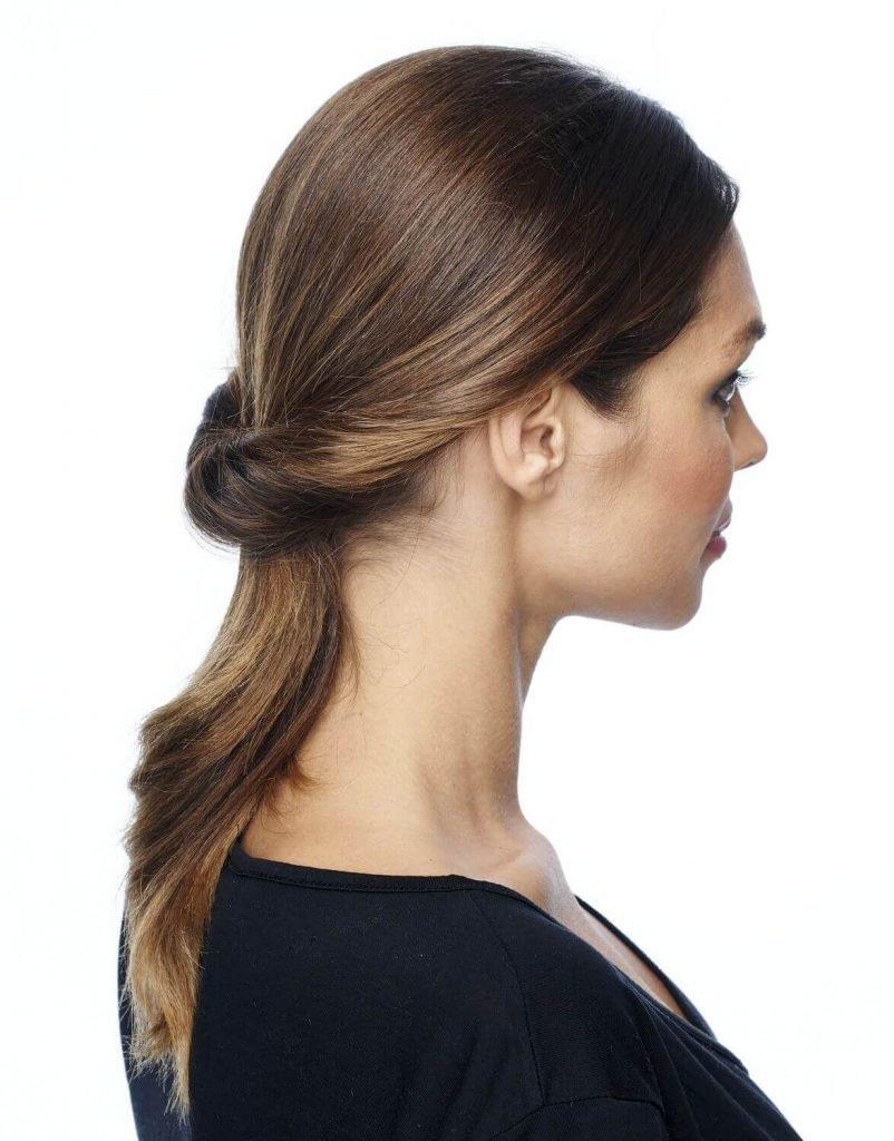 петля для укладки волос