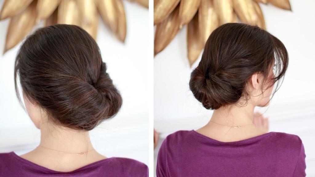прически с петлей для волос