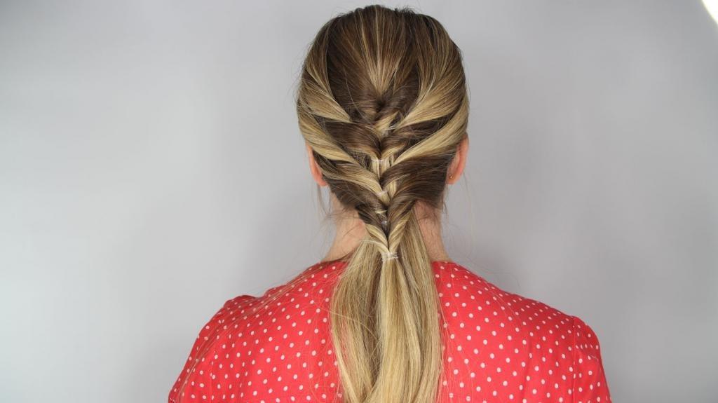 петля для волос как пользоваться