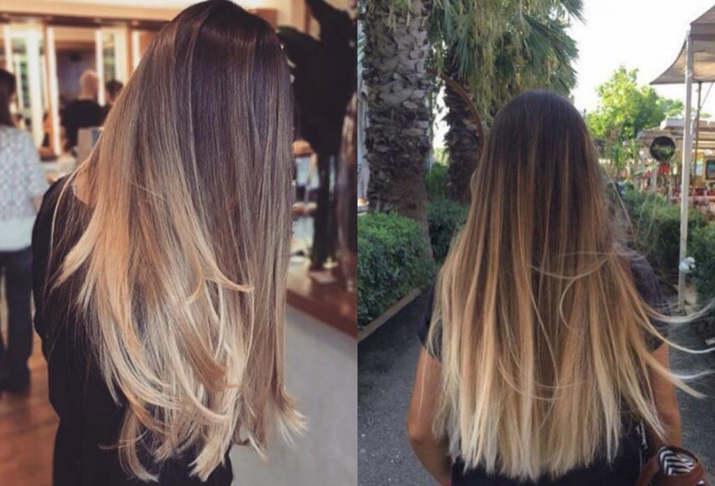 сложное окрашивание на русые волосы