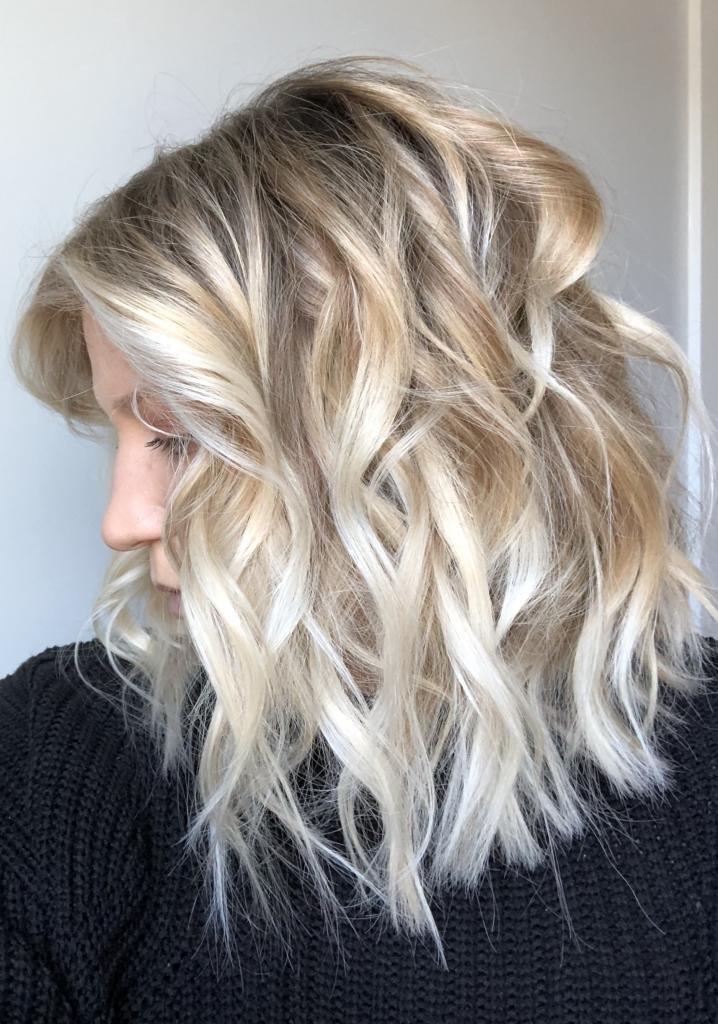 сложное окрашивание светлых волос