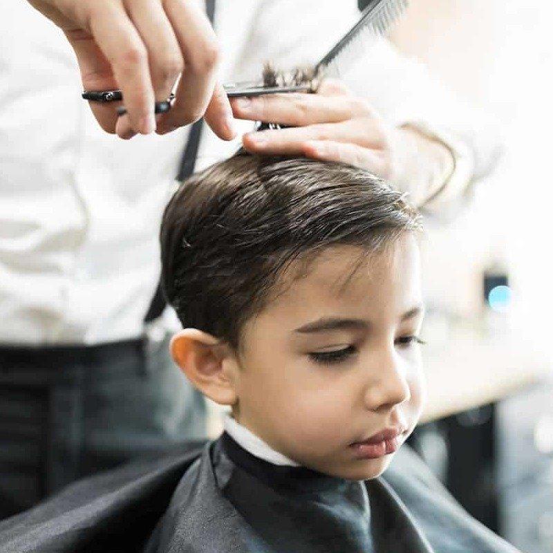 Как подстричь мальчика?