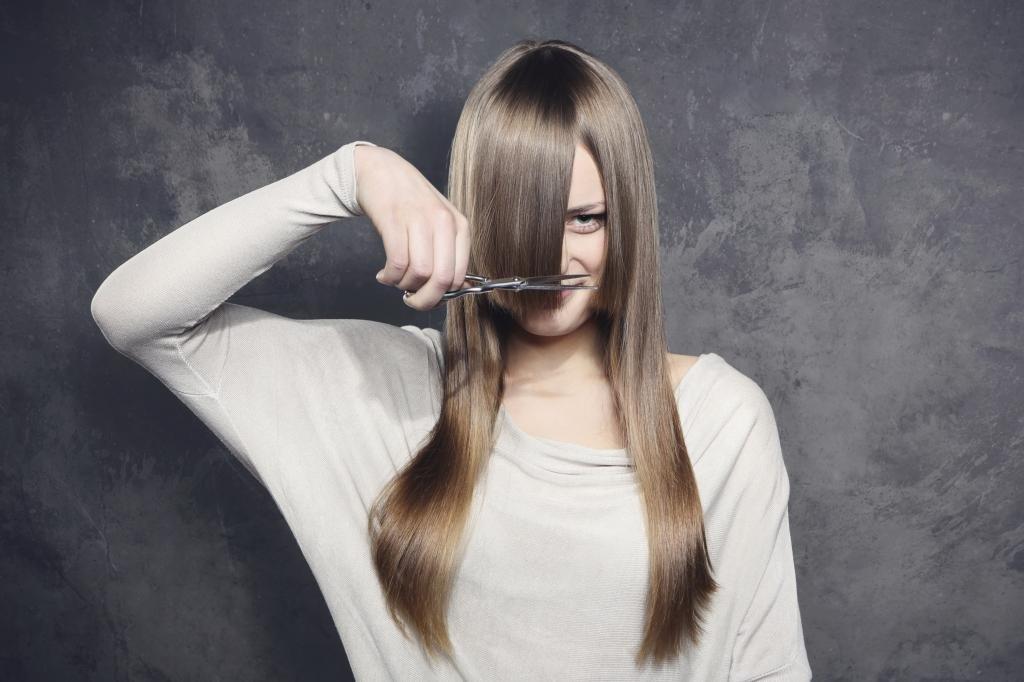 как подстричься самостоятельно?