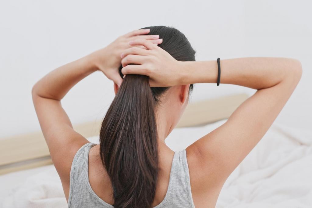 Как подстричь длинные волосы?