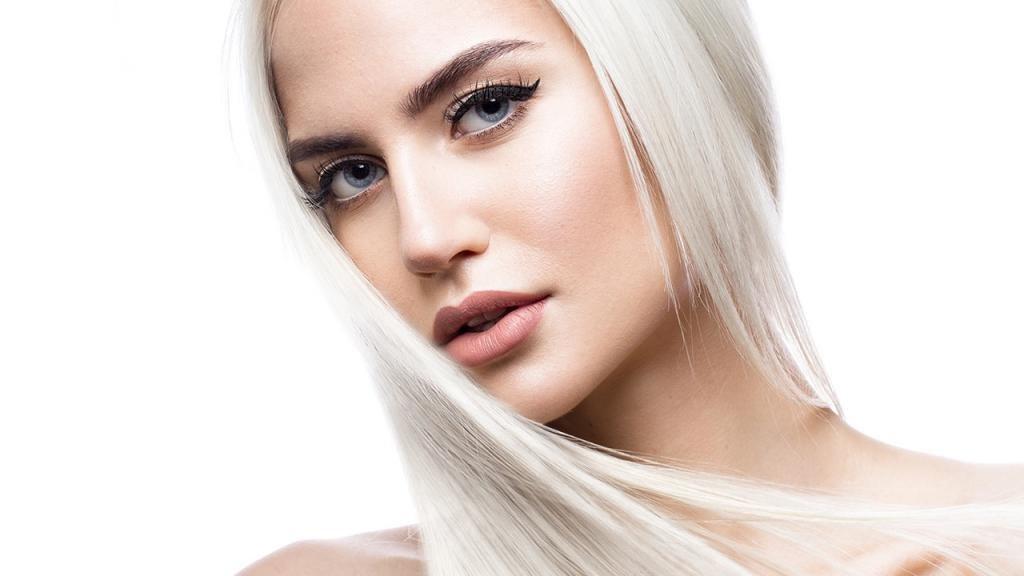 платиновый оттенок блонда