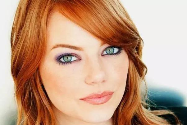 рыжие волосы под зеленые глаза