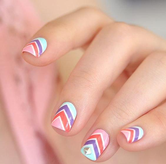 Ногти маленькие
