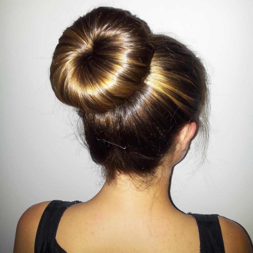 пучки из волос
