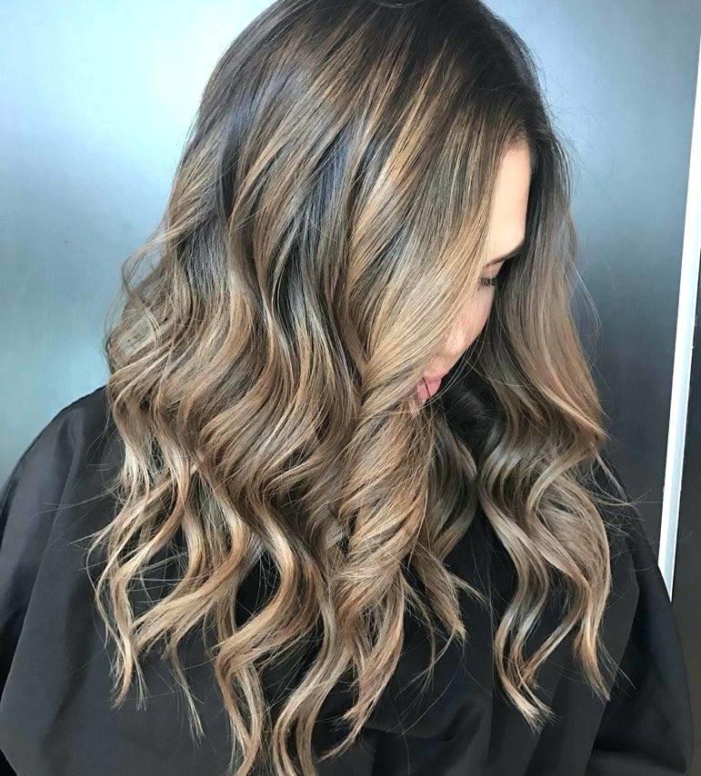 шоколадно серый цвет волос