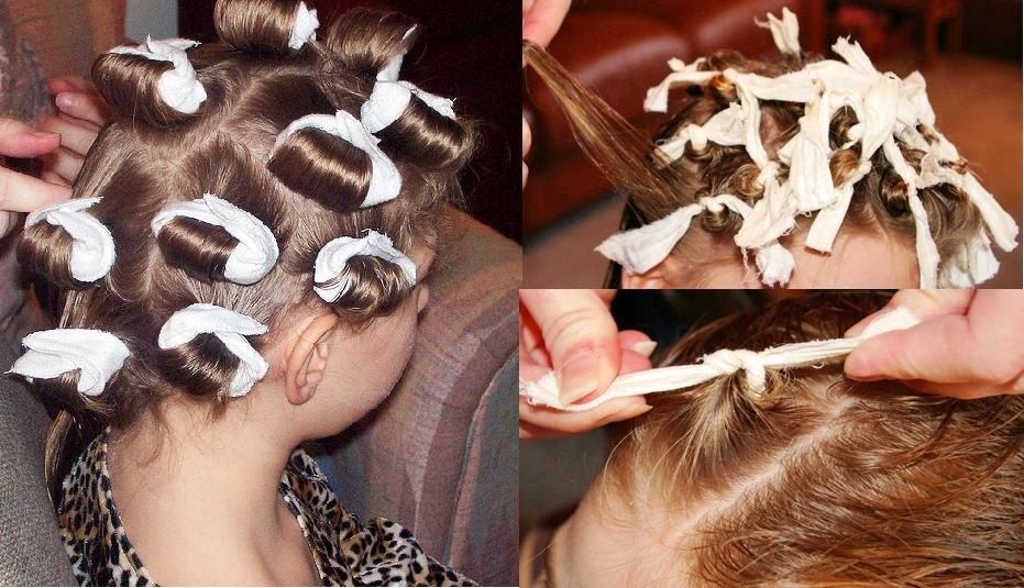 Как правильно накручивать волосы на тряпочки