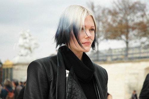 окрашивание волос низ темный верх светлый