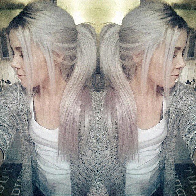 двойное окрашивание волос для шатенок
