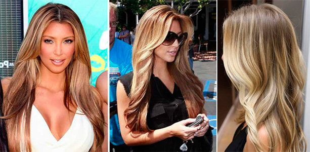 Шатуш до и после на темные волосы