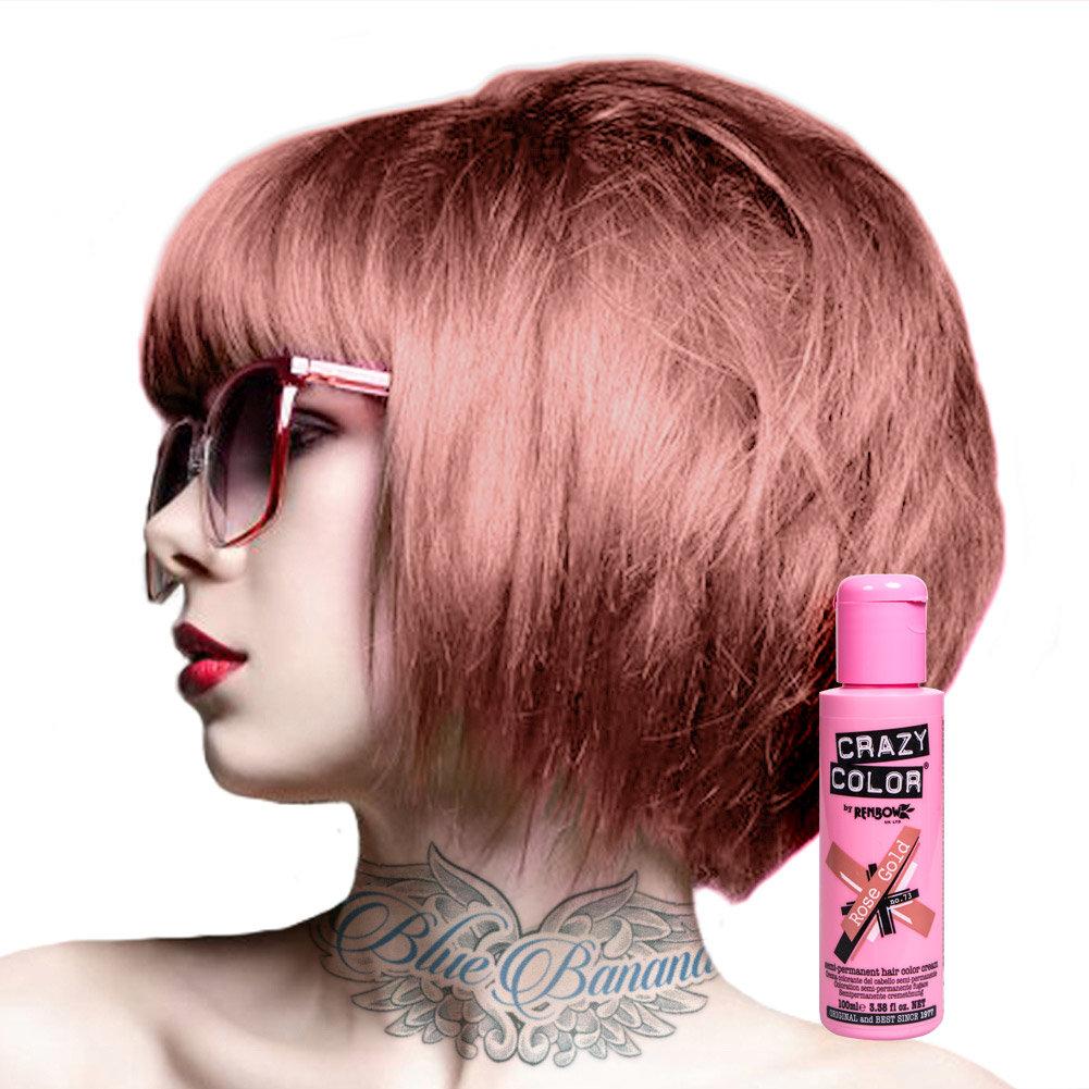 Фиолетовая краска для волос Crazy Color