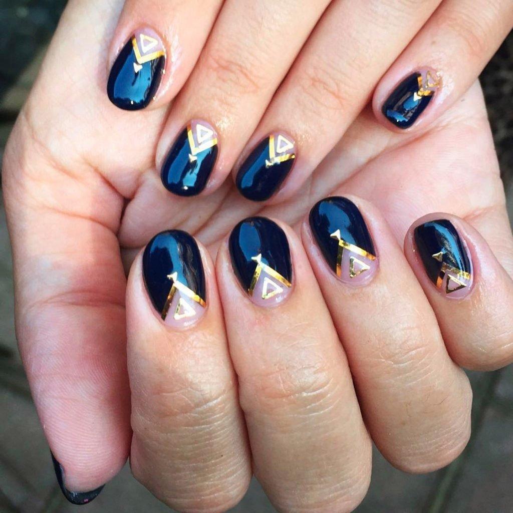 Круглые ногти