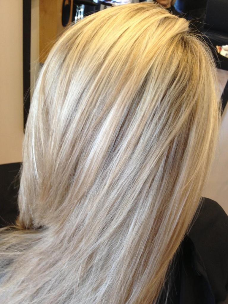 как осветлить волосы пудрой