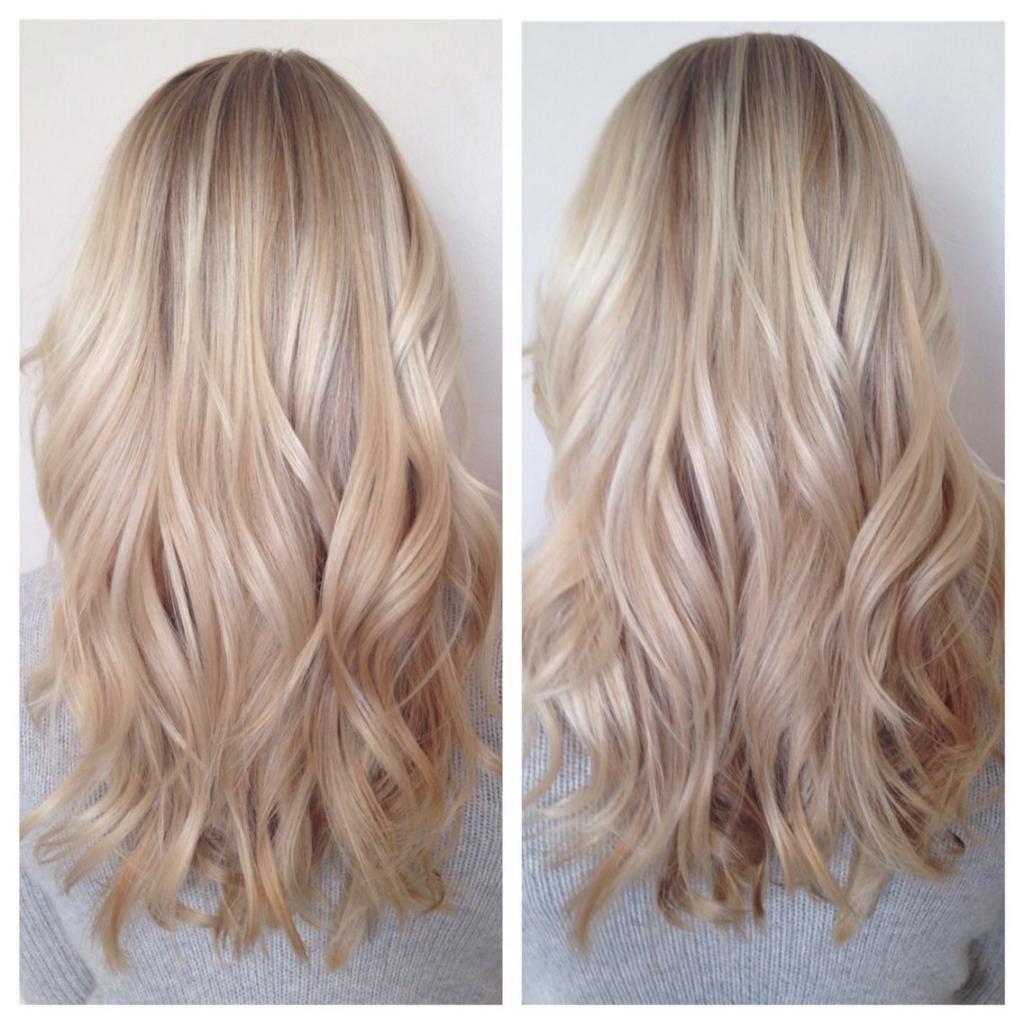клубничный пепельный блонд
