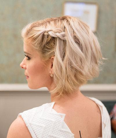 Заплетенные волосы на короткие волосы: описание, идеи и фото