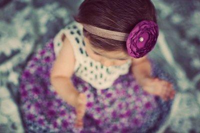 Как сделать своими руками повязку на голову для девочки