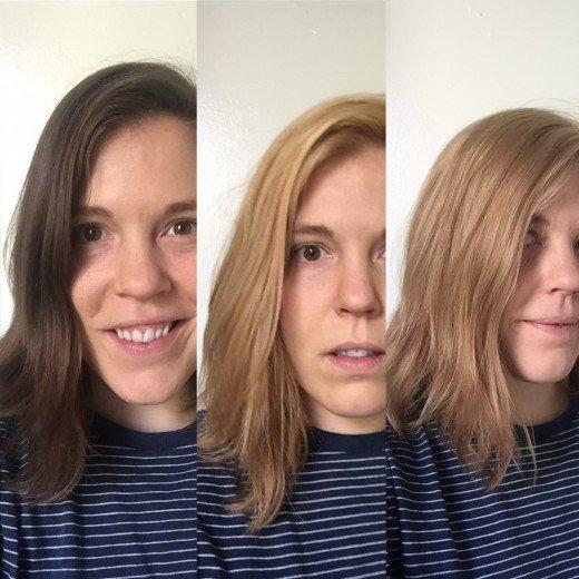 как действует краска для обесцвечивания волос