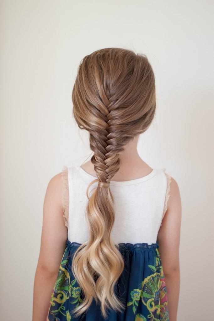 косы девочкам