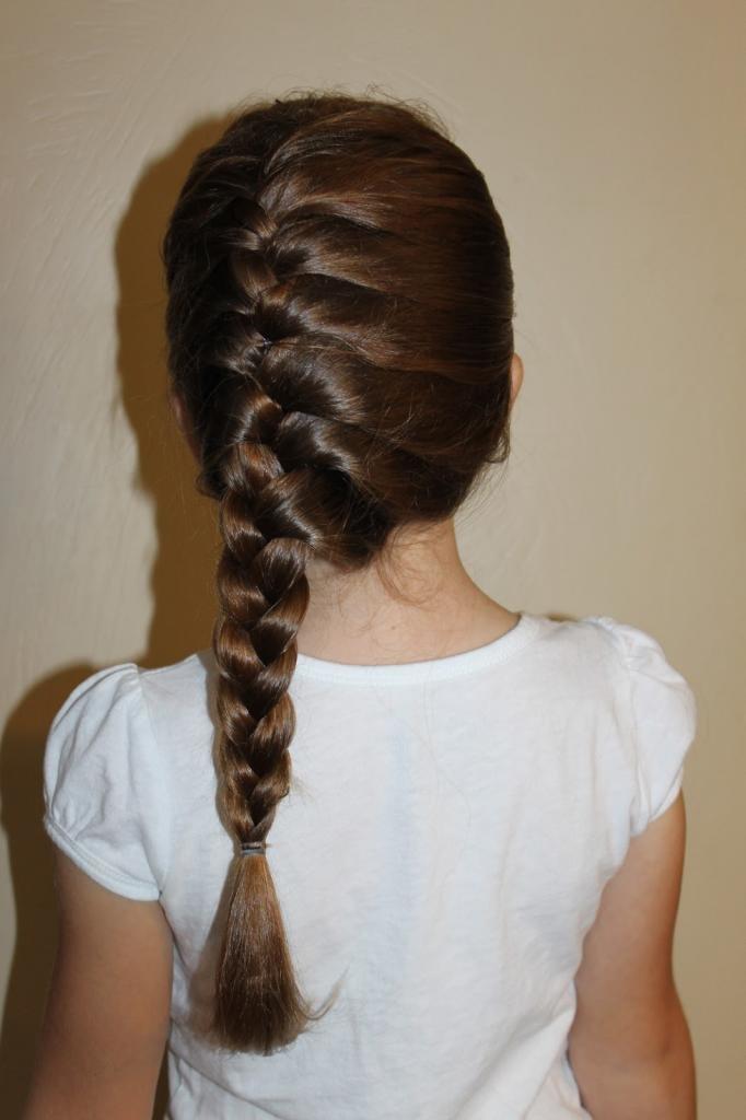 красивая коса для девочки