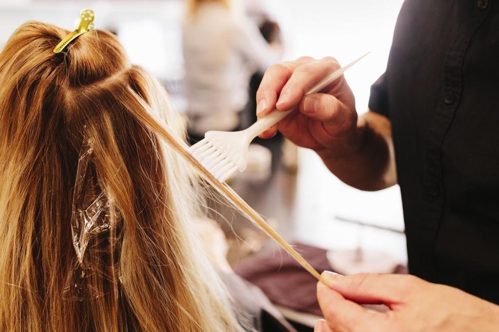 как перекисью водорода осветлить волосы