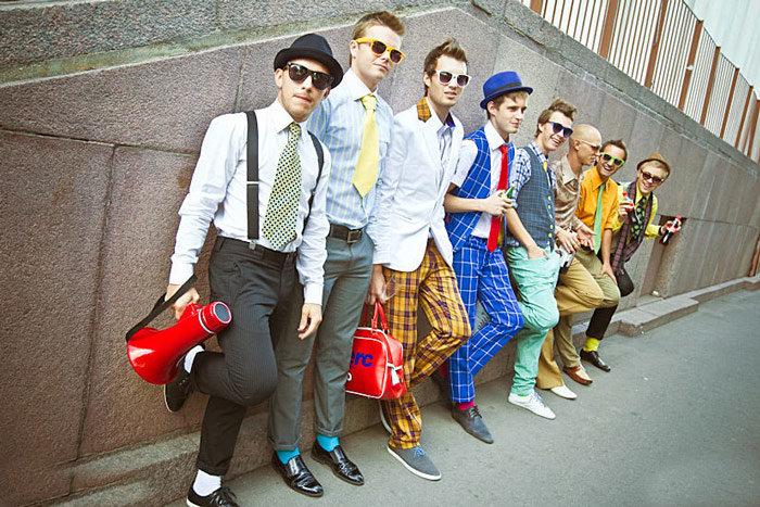 Мужские костюмы стиляг
