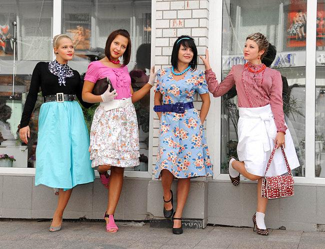 Образ девушки-стиляги сегодня